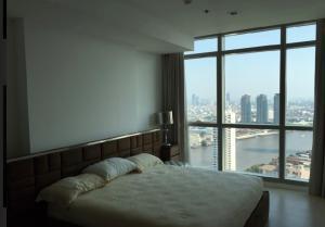 For RentCondoWongwianyai, Charoennakor : Sell / rent The River. 19.5MB luxury condo, next to the Chao Phraya River.