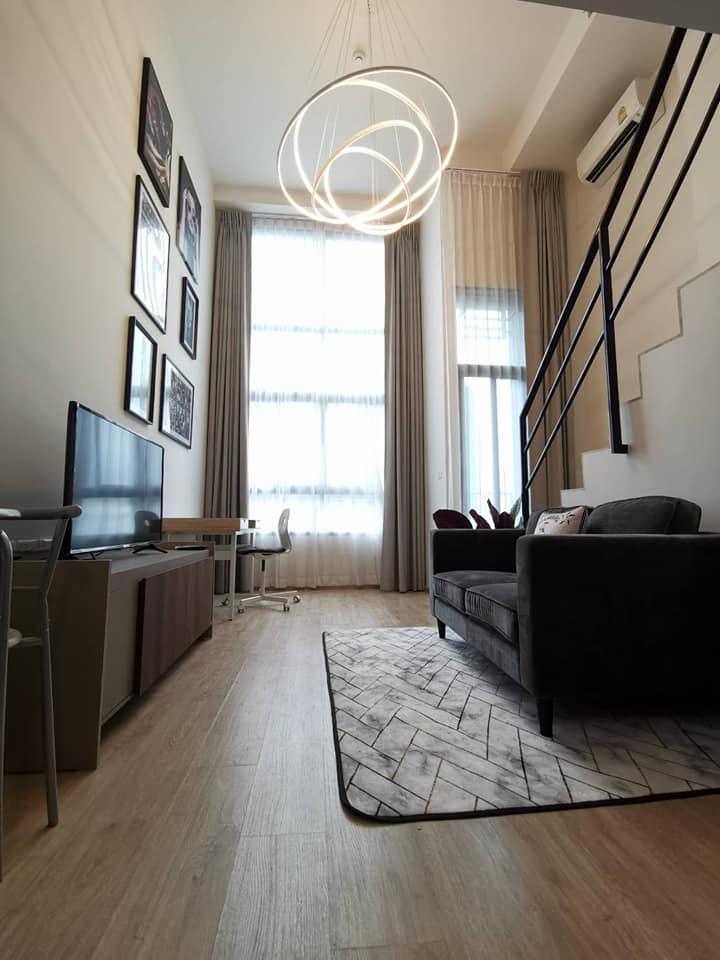 เช่าคอนโดพระราม 9 เพชรบุรีตัดใหม่ : ให้เช่าคอนโด Ideo New Rama 9 ไอดีโอ นิว พระราม 9 Duplex เฟอร์ครบ ชั้นสูง วิวสวย พร้อมเข้าอยู่
