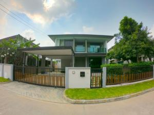 For SaleHouseBangna, Lasalle, Bearing : House for sale Burasiri Wongwaen-On Nut 68.2 sq.wa, 3 bedrooms, 3 bathrooms, in front of the house, north Soi King Kaew 25/1 Soi Kanchanaphisek 39