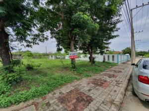For SaleLandRangsit, Patumtani : Selling below the appraisal price of 91 sq m of land in the village of Lagoon 3 Sam Khok, Pathum Thani
