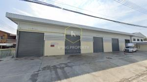 For RentWarehouseChengwatana, Muangthong : Warehouse for rent near Robinson Srisamarn, Pak Kret, Nonthaburi Size 160 sq m.