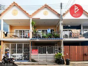 For SaleTownhousePattaya, Bangsaen, Chonburi : Townhouse for sale East Land & House, Don Hua Lo, Chonburi