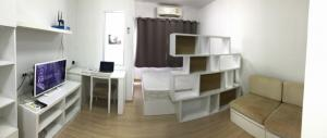 For SaleCondoRama9, RCA, Petchaburi : *** Sale / Rent (SALE) *** Studio room (Studio type, 4thFloor, D building) Parking side, 4th floor, Building D