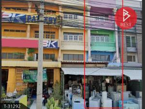 For SaleShophouseAng Thong : 3-storey commercial building for sale, 31 square meters, Ang Thong.