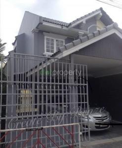 For RentHouseLadprao101, The Mall Bang Kapi : House for rent, Sindhorn Happy Land Bangkapi Village, 2-storey building, size 24 sq m.