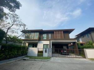 For SaleHousePattanakan, Srinakarin : Urgent!!! House for sale, Burasiri Phatthanakan 257 sq m. 85 sq wa.