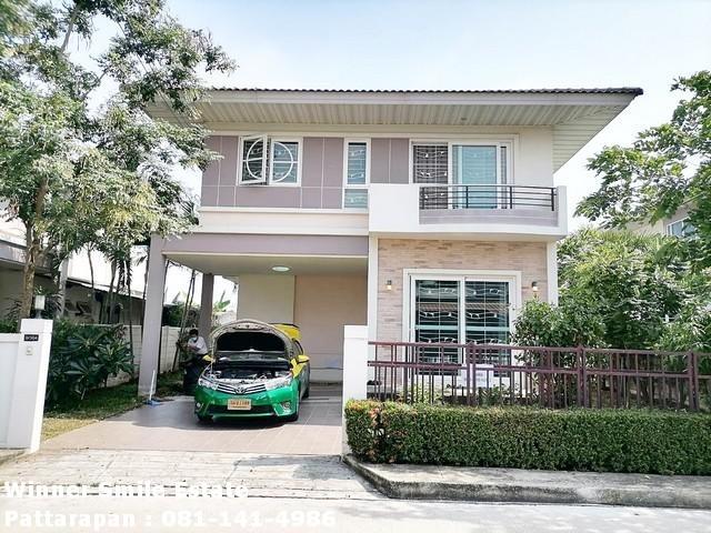 For RentHouseLadkrabang, Suwannaphum Airport : House for rent Supalai Garden Ville Suvarnabhumi Ladkrabang