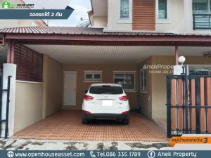 For SaleHouseRangsit, Patumtani : Beautifully decorated house ready to move in. 2-storey twin house, Ekavin 3 village