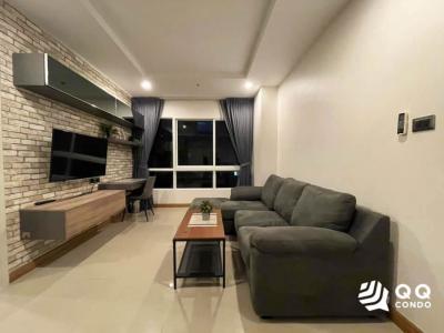 For RentCondoRatchadapisek, Huaikwang, Suttisan : For rent Supalai Wellington 2  1Bed, size 47 sq.m., Beautiful room, fully furnished.
