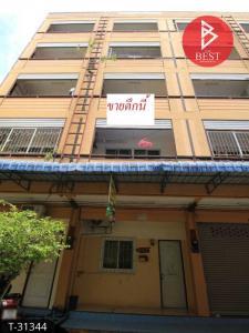 For SaleShophousePattaya, Bangsaen, Chonburi : 5-storey commercial building for sale near Burapha University, Bangsaen, a dormitory with 10 rooms.