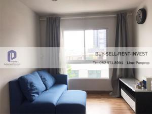 For RentCondoOnnut, Udomsuk : Condo for rent: Regent Orchid Sukhumvit 101, BTS Punnawithi, corner room, 1 bedroom 33 sqm. 11,000 baht / month