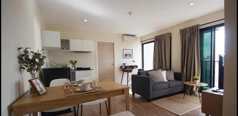 For RentCondoOnnut, Udomsuk : +++ Urgent rent +++ B republic Sukhumvit 101/1 ** 2 bedrooms 52.2 sq m, 5th floor, ready to move in.