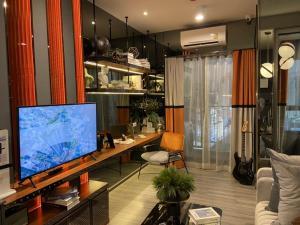 ขายคอนโดสยาม จุฬา สามย่าน : Ideo chula samyan คอนโดใหม่ใจกลางเมืองจุฬาสามย่านหนึ่งห้องนอนขนาด 34 ตารางเมตร