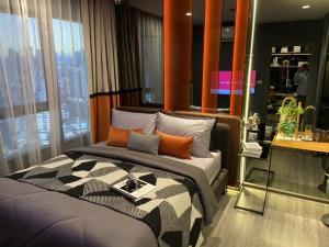 ขายคอนโดสยาม จุฬา สามย่าน : Ideo chula samyan คอนโดขนาดหนึ่งห้องนอนตั้งอยู่ใจกลางเมืองจุฬาสามย่านห้องขนาด 34 ตารางเมตรชั้น 22 ชั้นสูงไม่ควรพลาด.