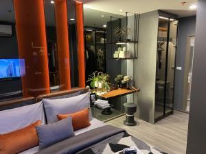 For SaleCondoSiam Paragon ,Chulalongkorn,Samyan : Ideo chala samyan คอนโดใหม่ใจกลางเมืองจุฬาสามย่านหนึ่งห้องนอนขนาด 34 ตารางเมตรชั้น 25