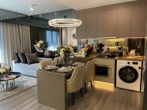For SaleCondoSiam Paragon ,Chulalongkorn,Samyan : Ideo chula samyan, new city center condo, two bedrooms, 57 square meters.