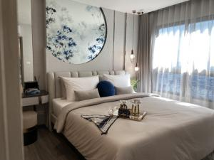 For SaleCondoSiam Paragon ,Chulalongkorn,Samyan : Ideo chula samyan, new condo in the heart of Chula Samyan city, two bedrooms, size 58 square meters, suitable for families.