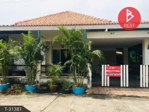 For SaleHousePattaya, Bangsaen, Chonburi : Single house for sale, Rattanakorn Village 15, Chonburi