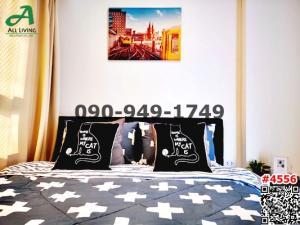 For RentCondoLadkrabang, Suwannaphum Airport : For rent I Condo Green Space Sukhumvit 77 Phase 2, next to Paseo Lat Krabang.