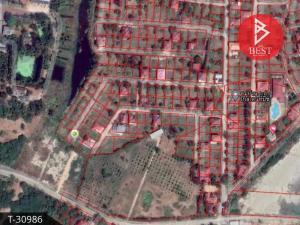 For SaleLandCha-am Phetchaburi : Land for sale, area 50.0 square meters, Cha-am, Golden Beach, Phetchaburi.