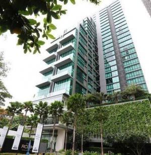 For SaleCondoSukhumvit, Asoke, Thonglor : Urgent sale, the cheapest in the high floor building, The Room Sukhumvit21