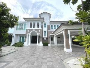 For SaleHousePinklao, Charansanitwong : Luxury detached house for sale, LADAWAN, Pinklao, Ratchapruek, 4 bedrooms, 5 bathrooms, 163.8 sq m.
