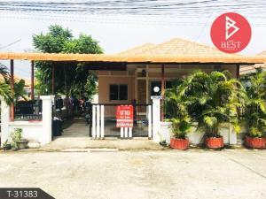 For SaleHousePattaya, Bangsaen, Chonburi : House for sale in the corner of Rattanakorn Village 15, Nong Prue, Chonburi.