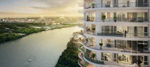 Sale DownCondoRama3 (Riverside),Satupadit : 🌇 Sales down! Luxury condo next to the Chao Phraya River Price only 97,081- / sq m The owner sells himself! Pay at Bank50,000 ฿ / month only