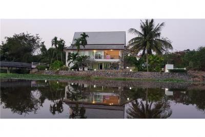 For SaleHouseHua Hin, Prachuap Khiri Khan, Pran Buri : Eurasia Resort Villa For Sale