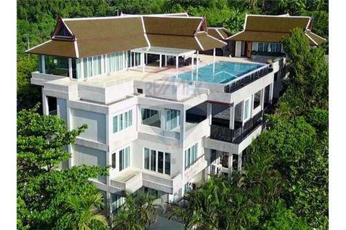 ขายบ้านภูเก็ต ป่าตอง : Exclusive Luxury Villa with pure 180' Ocean Front View