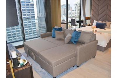 เช่าคอนโดสีลม ศาลาแดง บางรัก : For Rent Brand New 50sqn 1 bed Ashton Silom - 920071001-4679