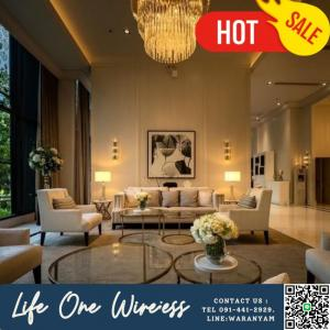 For SaleCondoWitthayu,Ploenchit  ,Langsuan : 💥💥 Condo life one wireless, close to the building !!! 💥💥 near Central Embassy, 2 minutes to the expressway. About 500 m. Away from Phloen Chit BTS station.