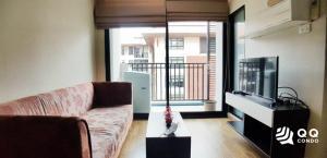For RentCondoKaset Nawamin,Ladplakao : For rent Baan Navatara - 1Bed, size 40 sq.m., Beautiful room, fully furnished.