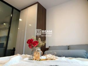 For RentCondoRatchadapisek, Huaikwang, Suttisan : MD001_C Condo The Modiz 32🔺 *near MRT Lat Phrao *Fully furnished, ready to move in