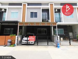 For SaleTownhouseSamrong, Samut Prakan : Townhouse for sale, Pleno Srinakarin, Sridan 22, Bang Kaeo, Bang Phli, Samut Prakan.