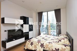 For RentCondoSilom, Saladaeng, Bangrak : Large Room Best Price!! Condo for Rent Near BTS Sala Daeng - Saladaeng Residences @35,000 Baht/Month