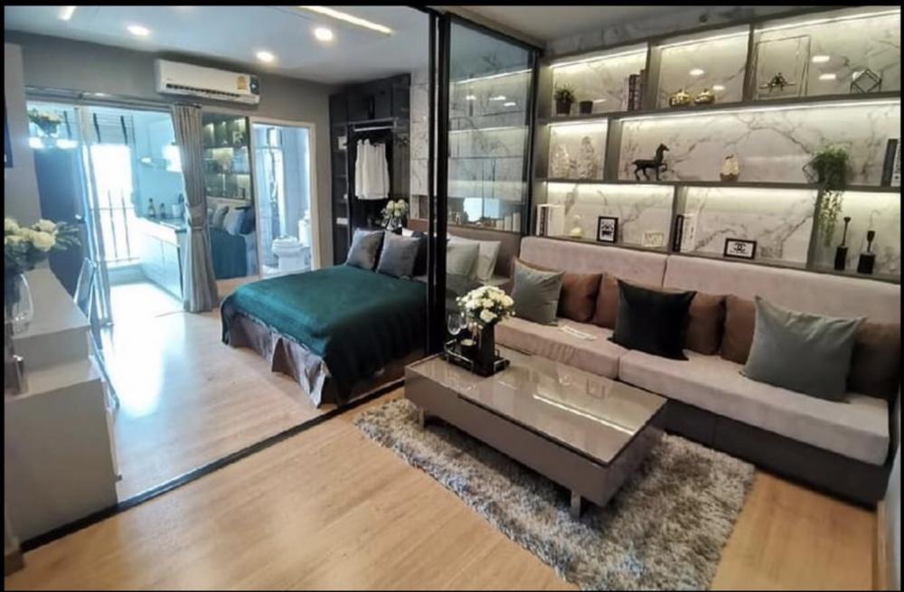 For SaleCondoBang Sue, Wong Sawang : NC-S172ขายคอนโด Supalai Veranda Ratchavipha-Prachachuen -อาคาร East-ชั้น 12 A -พื้นที่ 32.21 ตรม.-Build in สวยงาม มีประตูกั้นห้องนอนเพื่อความเป็นสัดส่วน-มีประกันห้องกับโครงการถึงเดือน มิ.ย. 64-ฟรีค่าส่วนกลางปี 64