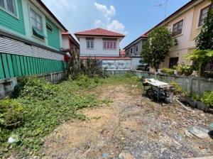 ขายที่ดินสำโรง สมุทรปราการ : ขาย ที่ดิน ในโครงการหมู่บ้าน ทรัพย์สมบูรณ์ 27 ตร.วา ซอยกระทิงแดง ถนนประชาอุทิศ ในคลองบางปลากด