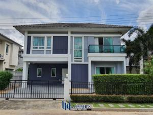 For SaleHousePattanakan, Srinakarin : FIRE SALE🔥 Brand new house at Life Bangkok Boulevard Rama9-Wongwaen near Krungthep Krita