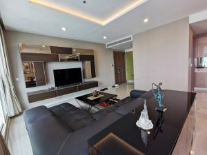 เช่าคอนโดพระราม 3 สาธุประดิษฐ์ : Menam Residences for rent 160sqm 3beds 3baths 100,000 per month for sale 34.5MB