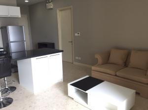 For RentCondoSukhumvit, Asoke, Thonglor : Condo for rent NUSASIRI GRAND Type 2 bedroom 2 bathroom Size 80 sq.m. Floor 20