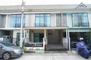 For SaleTownhouseChengwatana, Muangthong : Townhome for sale in good condition. Pruksa Ville Village 65/1 (Sri Saman) 2.49 million 19 sq m. 3 bedrooms, 2 bathrooms, 1 car park in the house.