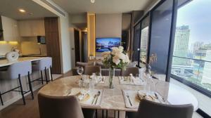 For RentCondoSukhumvit, Asoke, Thonglor : Condo for rent Celes Asoke Type 2 bedroom 2 bathroom Size 86 sq.m. Floor 18