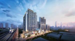 Sale DownCondoBangna, Lasalle, Bearing : Resale down payment Regal Sukhumvit 76, next to BTS Bearing, Samrong.