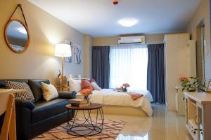 For SaleCondoRama3 (Riverside),Satupadit : Urgent sale at par, beautiful room, condo for sale Charoenkrung Place Rama 3