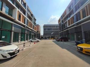 For SaleOfficeNawamin, Ramindra : เนอวานา@ work ออฟฟิต ติดถนนใหญ่รามอินทรา และรถไฟฟ้า🔹️ตึกใหม่ซื้อตรงจากโครงการ 🔹️หน้ากว้าง 8 เมตร หลังมุม 🔹️พื้นที่ใช้สอย 452 ตร.ม. 4.5 ชั้น