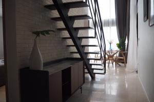 For RentCondoSilom, Saladaeng, Bangrak : The loft silom duplex 2bedroom
