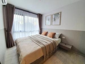 For RentCondoBangna, Lasalle, Bearing : ✅ For rent, The Origin Sukhumvit 105, near BTS, size 26.75 sq.m., fully furnished and electrical appliances ✅