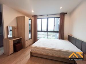 For RentCondoThaphra, Wutthakat : 💐🌼For rent  Ideo Wutthakat   Studio , size 21 sq.m., Beautiful room, fully furnished.💐🌼