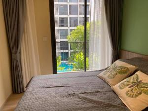 เช่าคอนโดอ่อนนุช อุดมสุข : For Rent 租赁式公寓 Chamber Onnut Station (2bed )35sq.m. 17,000 THB Tel. 065-9899065